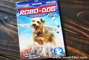 Robo-Dog Airborne Flies Home to DVD