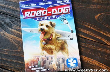 Robo-Dog Airborne Flies Home to DVD