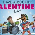Print Your Own Rock Dog Valentine's to Give Out!