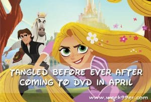 Tangled Before Ever After Coming to DVD in April