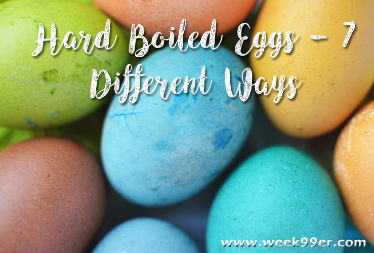 ways to use hard boiled eggs