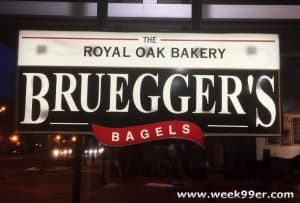 Bruegger's Bagels is Back in Royal Oak