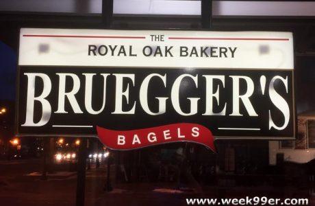 Bruegger's Bagels is Back in Royal Oak