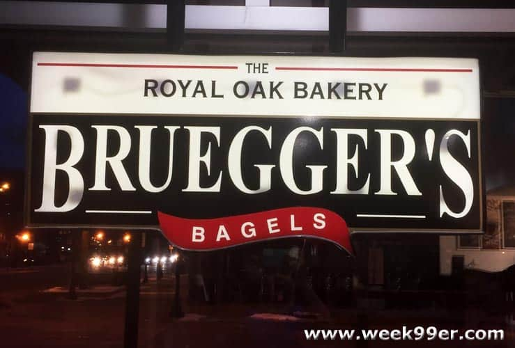 brueggers bagels royal oak review