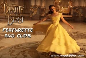 New Beauty and the Beast Featurette and Clips #BeOurGuest #BeautyAndTheBeast