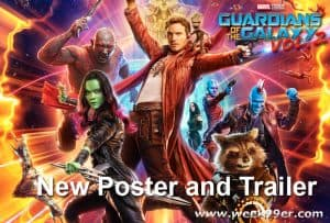 All New Guardians of the Galaxy Vol 2 Trailer and Poster! #GotGVol2