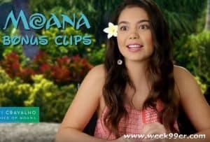 Moana Musical Bonus Clips #Moana