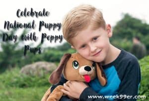 Celebrate National Puppy Day with Peppy Pups! #nationalpuppyday #peppypups