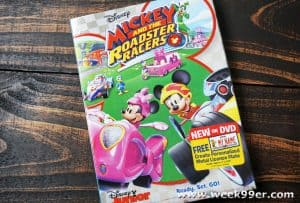 Mickey and The Roadster Racers Review, New Clip and Printable Activity Sheets