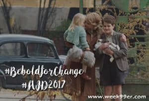 Celebrate International Women's Day The Zookeeper's Wife and Be Bold #Zookeeperswife #beboldforchange #iwd2017