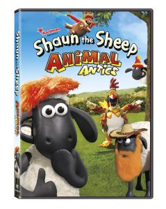 SHAUN THE SHEEP ANIMAL ANTICS DVD WRAP