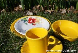 Fiesta ware Daffodil color