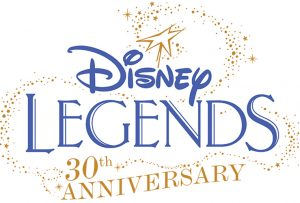 disney legends 30th anniversary announcement