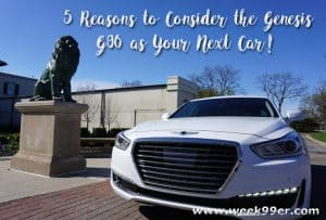 Five Reasons to Consider the Genesis G90 as Your Next Car #GenesisG90