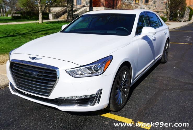2017 Genesis G90 Review