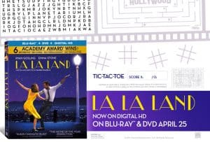 La La Land Activity Sheets Made For the Perfect Girls Night In!