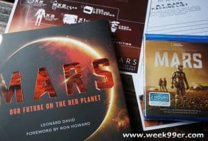 Get Ready to Head to Mars with National Geographic's Series Mars on Blu-Ray + Bonus Clips and Packing Sheet #MARSday