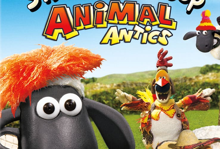 shaun the sheep animal antics announcement