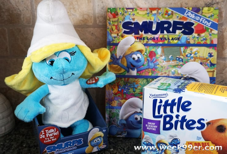 Smurfs The Lost Village And Little Bites Join Together For Spring Fun