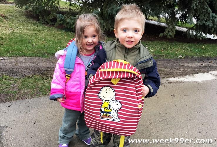 Hanna Andersen Peanuts Backpack