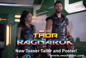 New Thor: Ragnarok Teaser Trailer and Poster #ThorRagnarok