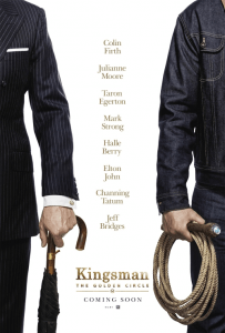 Kingsman Golden Circle Poster