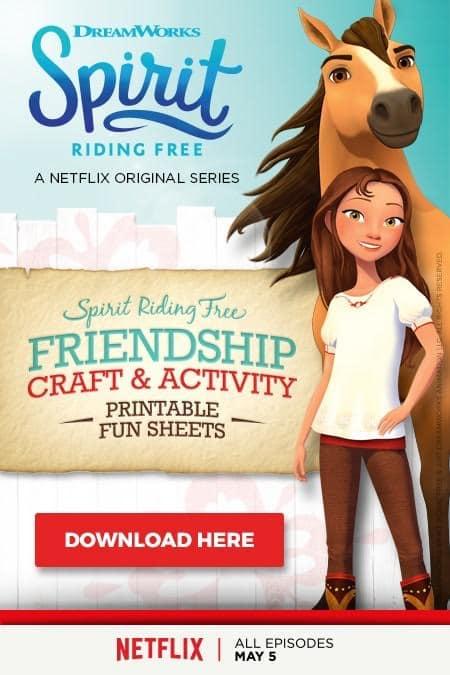 spirit riding free activity sheets