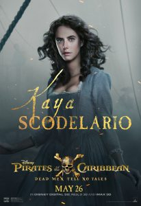 KAYA SCODELARIO Interview Pirates of the Caribbean