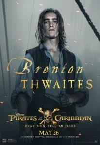 Brenton Thwaites Interview Pirates of the Caribbean