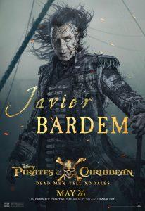 Javier Bardem Pirates Poster
