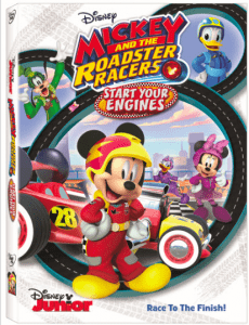 MICKEY AND THE ROADSTER RACERS: START YOUR ENGINES dvd release date