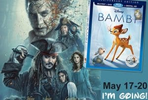 It's a Pirates Life for Me! LA Press Junket Details and Release Information #PiratesLifeEvent #Bambibluray