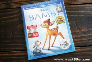 Bring Home the Magic of Bambi on bluray with Unforgettable Bonus Features #Bambibluray