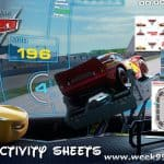 Fun New Cars 3 Activity Sheets + Trailer #CARS3