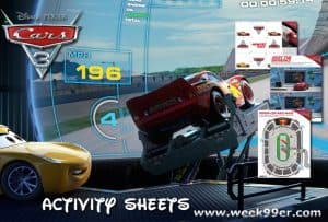 Fun New Cars 3 Activity Sheets + Trailer #CARS3