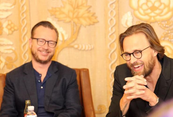 Directors Joachim Ronning & Espen Sandberg Interview Pirates of the Caribbean