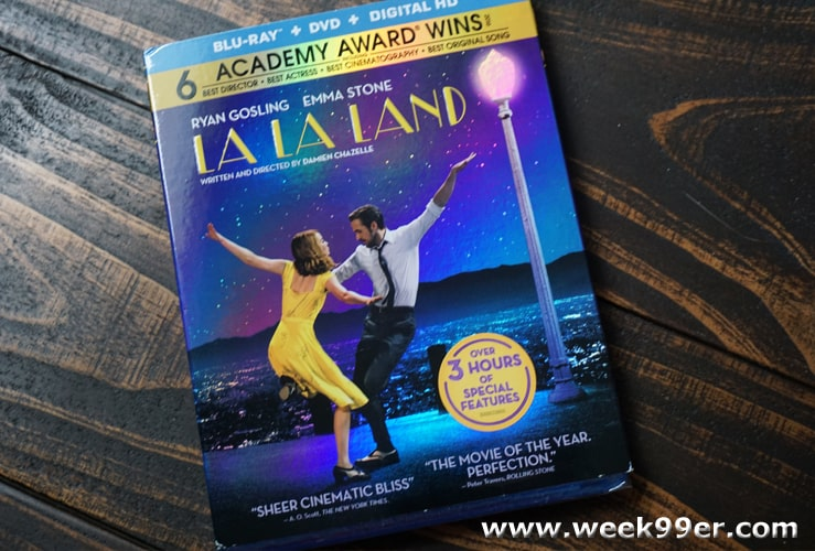 la la land dvd review