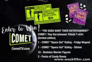 Enter to Win a Comet TV Collector Set! #CometTV
