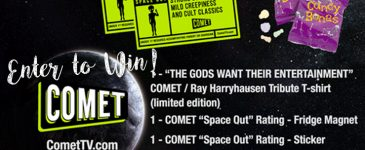Enter to Win a Ray Harryhausen Collector Set! #CometTV