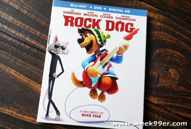 rock dog dvd review