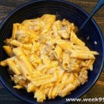 Easy Gluten Free One Pot Cheesy Sausage Pasta Recipe