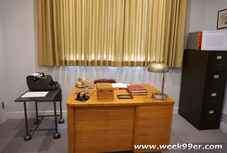 Walt Disney's Office