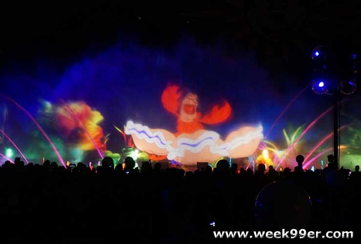Disneyland World of Color