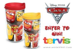 Win These Fantastic Cars 3 Tumblers from Tervis! #Cars3