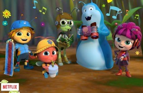 Meet the Beat Bugs! An All New Show on Netflix!