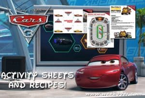 Race to Print Out These Cars 3 Activity Sheets #CARS3