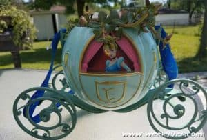 Cinderella carriage planter diy