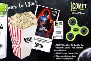 Alien Attack Movie Marathon + Comet TV Giveaway #COMETTV
