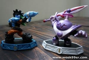 Blaster-Tron and Tidepool are the New Skylanders Making Waves in Imaginators
