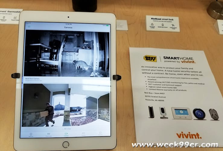 protect your home and family with a smart home system from vivant at best buy vivant bestbuy. Black Bedroom Furniture Sets. Home Design Ideas